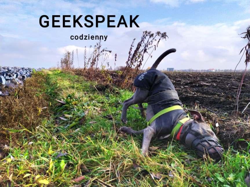 Geek Speak codzienny z AgnieszkąRybicką